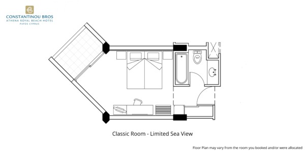 2 Classic Room - Limited Sea View