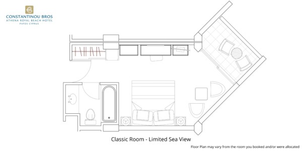 3 Classic Room - Limited Sea View