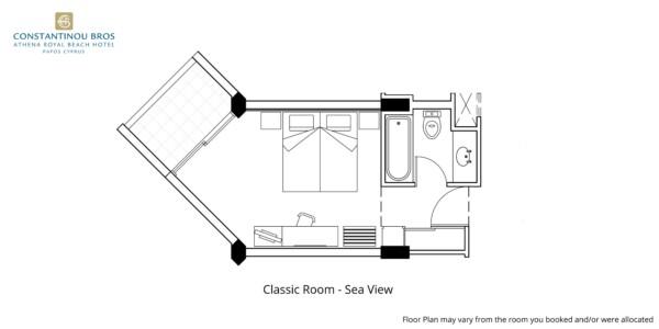 3 Classic Room - Sea View