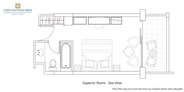 5 Superior Room - Sea View