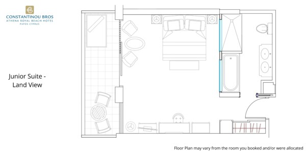 9 Junior Suite - Land View